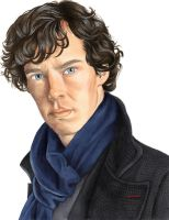 Sherlock (BBC TV series) by Melnia