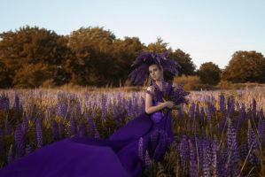 # Princess of the Lupines by Mishkina