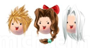 FF VII Meatballs by Halcyon-Enigma
