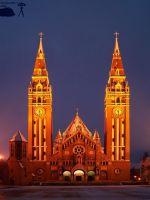 Szeged at night -1 by morpheus880223