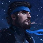 SOLID SNAKE by DanLuVisiArt