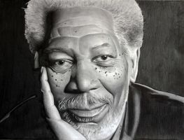 Morgan Freeman 2 by donchild