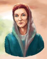 Catelyn Stark by ImperfectSoul