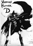 Vampire Hunter D by thaddeous