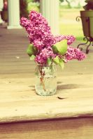Lilacs in a Jar (2) by AwakeYourSoul