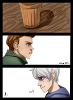 Destiel\Hijack comic -1 by Hi-Ku