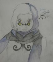 Laune the Chandelure by NightmareEadin