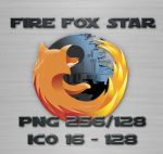 Fire Fox Star by jimmyw