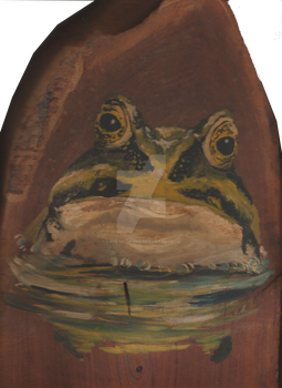 Frog on a Log by Kate-McCridhe