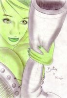 Brittany as She-Hulk by POWER-BEAUTIES