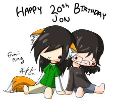 Happy Birthday Jon by AmyFawkes