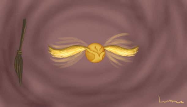 Golden Snitch - Harry Potter by Louisetheanimator