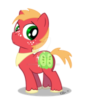 Big Macintosh Colt by EllisArts