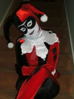 Harley Quinn Cosplay 90s cartoon version by Mad--Munchkin