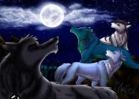 Our Moon Song by NayruLocksley