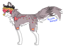x. Wolf adoptable VI. TAKEN by HandleYourself