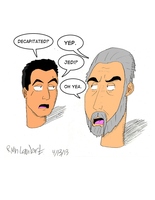 Star Wars- Decapitated Jango n' Dooku by RyanTheGreat777