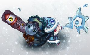 Bot lane's all covered! by eyjaynizel