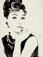 Audrey Hepburn by grey90