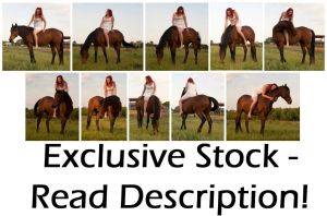-EXCLUSIVE- Equestrienne by syccas-stock