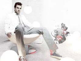 Zachary Quinto LetItBeLight by gabiellalili