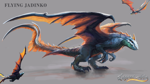 Flying Jadinko by RS-LegendArts