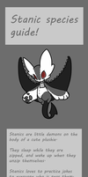 Stanic species guide - CLOSED SPECIE by Ayinai