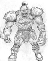 Tidal - World of Warcraft Orc by ghbarratt