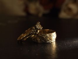Bride's and Groom's Rings by Silvermoonlight217