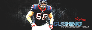 Brian Cushing by eeryvision