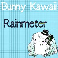 Bunny Kawaii Rainmeter by monzedkltz