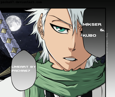 Bleach 461: Hitsuqaya Toshiro by GoLD-MK