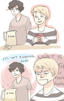SHERLOCK: THAT'S NOT EGGNOG by Randomsplashes