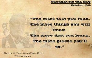 Thought for the Day - October 19th by ebturner
