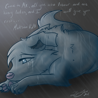 Grace Like Rain by LupusSilvae