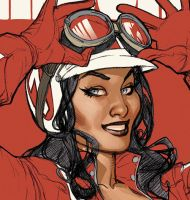 BOMBSHELLS 7 COVER Preview by TerryDodson