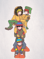 South Park: Happy 4 frineds by SteveArgh
