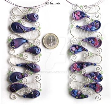 Enchanted Flora, the Pendant by Alkhymeia