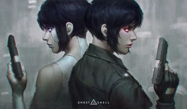 Ghost In The Shell - Final by GUWEIZ