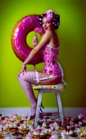 Mrs Donut by parampam
