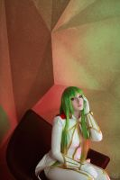 [Code Geass R 2 C.C. cosplay ] Geass power by TheWisperia