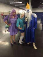 Adventure Time Trio by ScorpioMonkey