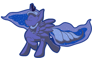 Obligatory Luna by thepiplup