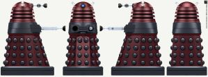 New Paradigm Dalek Strategist by Librarian-bot