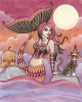 Krista - Halloween Mermaid by Aurella