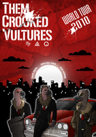 THEM CROOKED VULTURES by JKendall