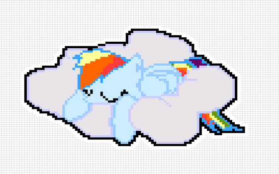 Pixel Dashie by Volkswerk-JessWright