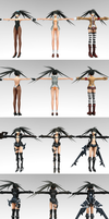 [Updated] Stella BRS all ver with correct T-pose by ChocoKobato