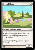 Crystal Sheep by ManaSparks
