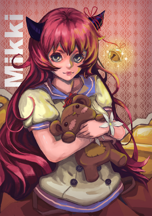 Commission: Mikki by leefaan